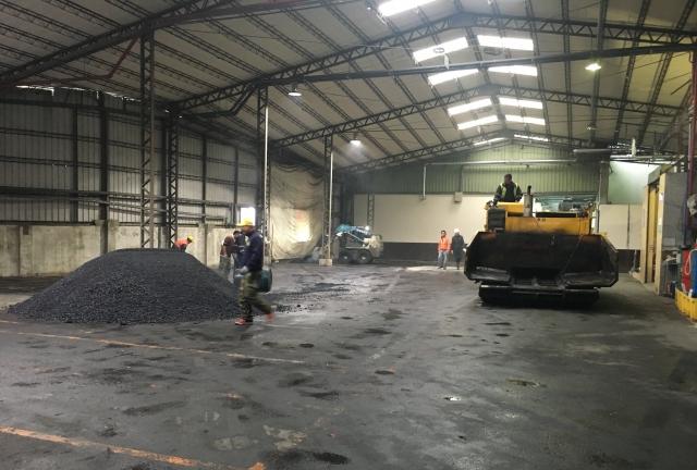 倉庫AC 鋪設工程